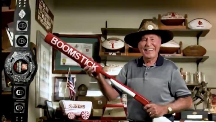 Lee Corso and da Boomstick