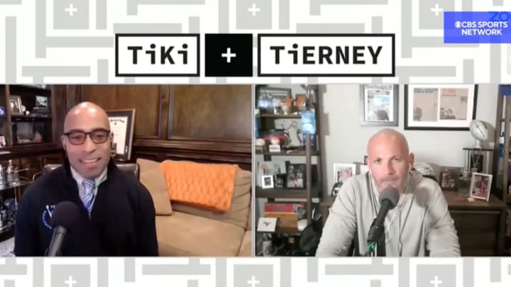 "Tiki Barber and Brandon Tierney on ""Tiki and Tierney"""