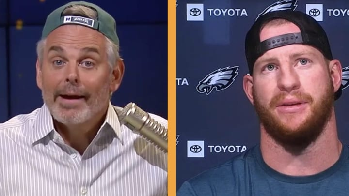 Colin Cowherd and Carson Wentz