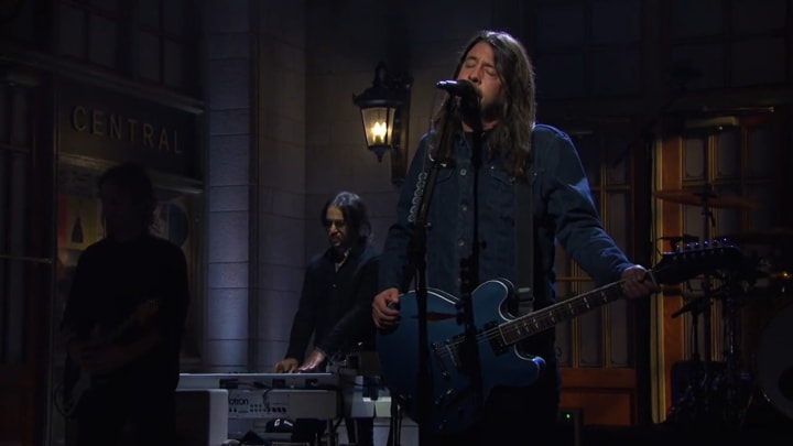 "Foo Fighters on ""Saturday Night Live"""