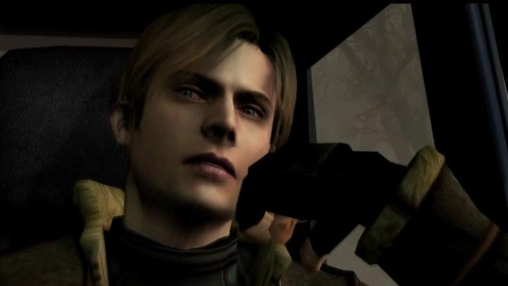 Leon in Resident Evil 4