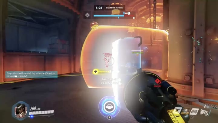 Lucio breaks it all the way down to the bottom of King's Row