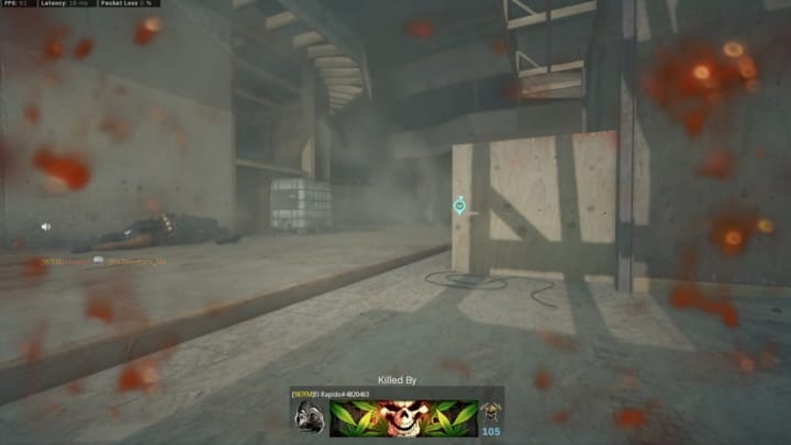 """""""Killed by a Claymore in a Semtex gulag. Anyone seen this before? Was it somehow a leftover from a previous Gulag or is there some other explanation?"""""""