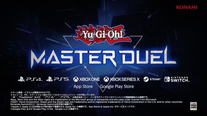 Yu-Gi-Oh! Master Duel aims to allow players to fully experience the franchise's OCG/TCG using its Master Rules.