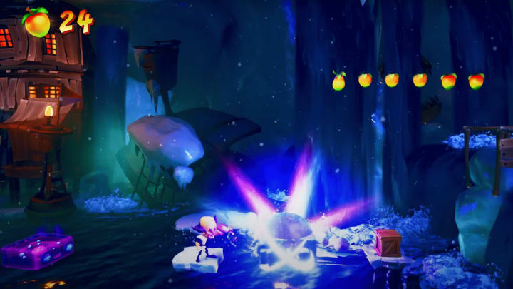 Dr. Neo Cortex will be playable during certain moments in the story.