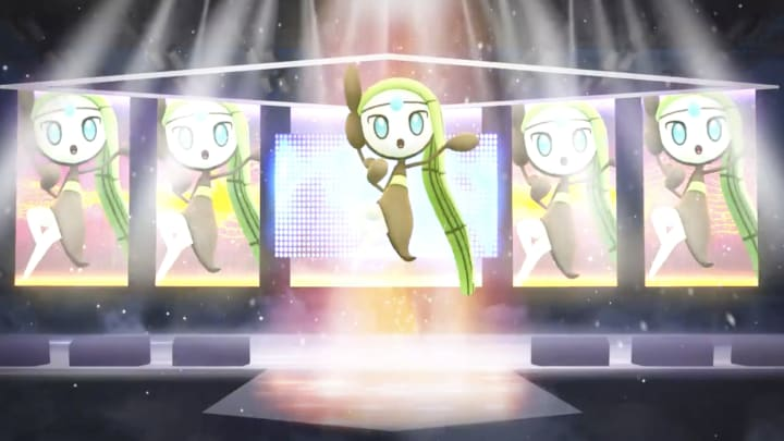 Meloetta, the Melody Pokemon, is the featured Mythical Pokemon at GO Fest 2021