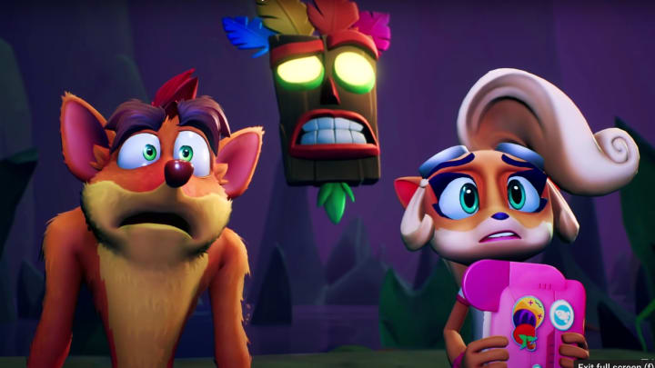 Crash Bandicoot 4: It's About Time is the first new Crash entry in over ten years.