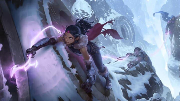 Legends of Runeterra Mountain Sojourners