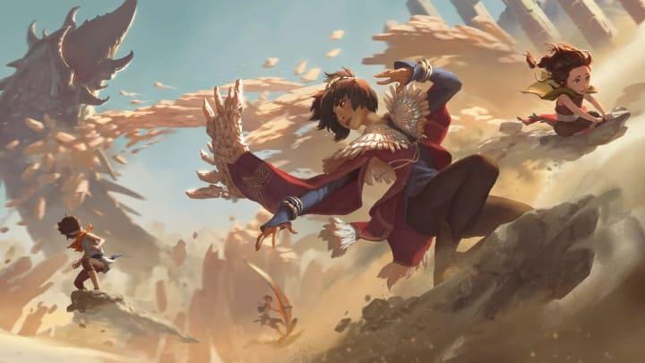 Legends of Runeterra Taliyah Level 2