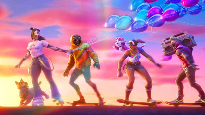 The Joy outfit, designed by Fortnite concept artist DahjaCat, officially released in the item shop on Sept. 3, 2021.