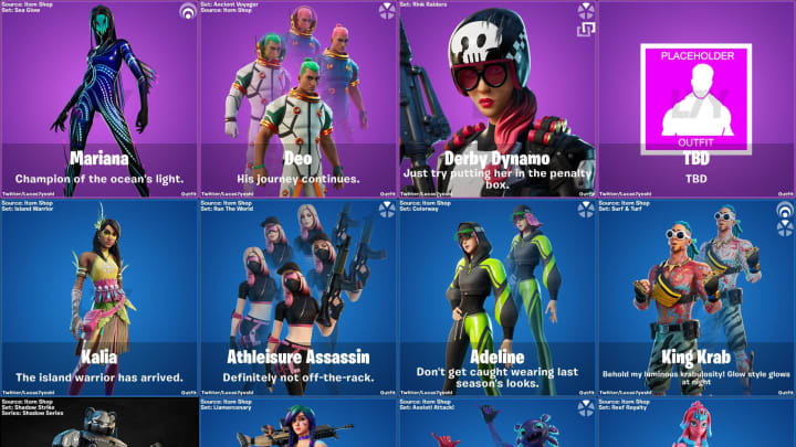 Fortnite V13 40 Leaked Skins And Cosmetics We are not affiliated with or endorsed by fortnite, epic games, or any of its partners, affiliates or subsidiaries. fortnite v13 40 leaked skins and cosmetics