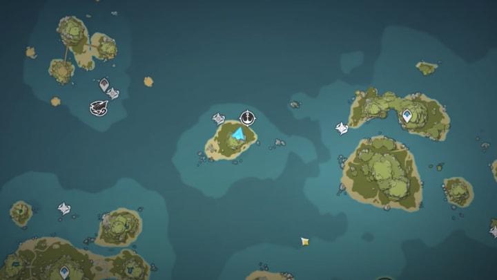 Genshin Impact archipelago map