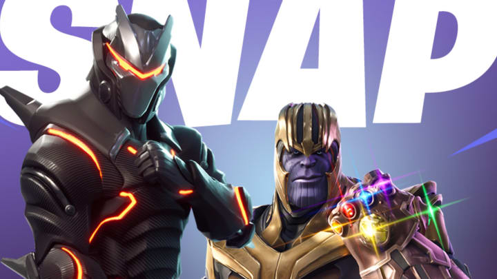 Thanos was first seen in Fortnite during his own limited-time mode in 2018.