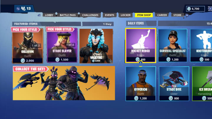 Fortnite is having Black Friday and Cyber Monday deals on skins, V-Bucks, and cosmetics in the Fortnite Item Shop.