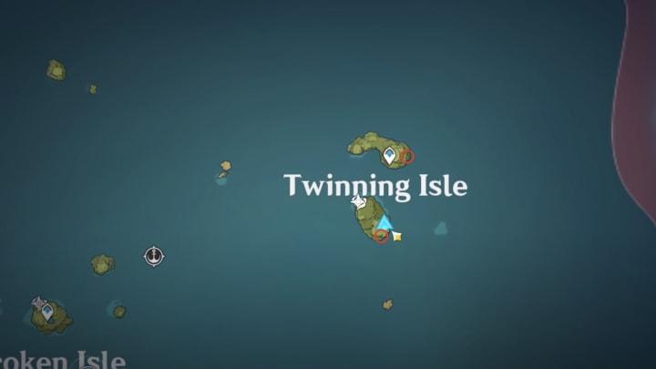 Genshin Impact archipelago conch locations Twinning Isle