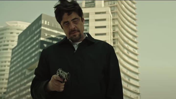 Benicio Del Toro in 'Sicaro'