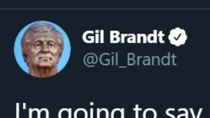 Former Cowboys GM Gil Brandt offers his opinion on Twitter
