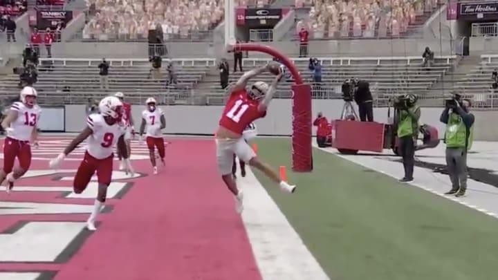 Jaxon Smith goes up