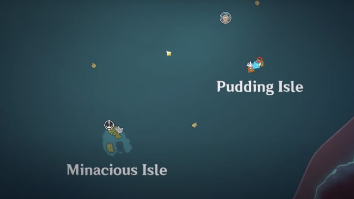 Genshin Impact archipelago conch locations Pudding Isle