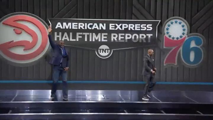 Inside The NBA Race