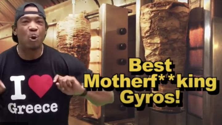 Ja Rule and his gyros