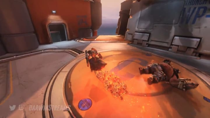 DarwinStreams replaced Brigitte's ultimate with a meme-tastic new ability.