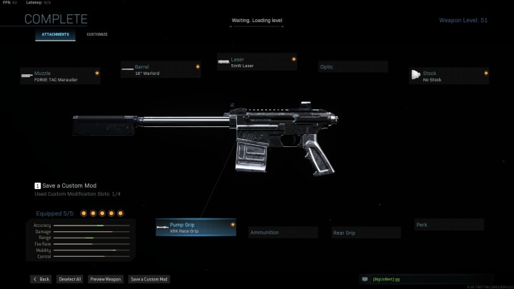 The VLK Rogue is lighting quick, and can one shot kill an enemy in Multiplayer, but not in Warzone. Its handling and mobility make up for this demerit