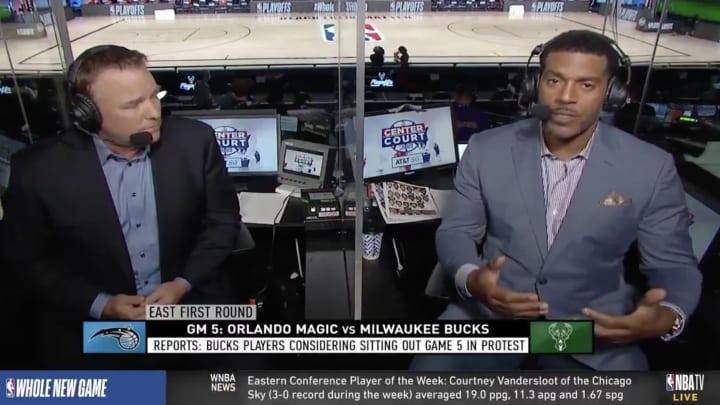 Jim Jackson and Bob Fitzgerald on NBA TV