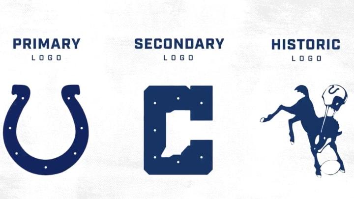 New Colts logos