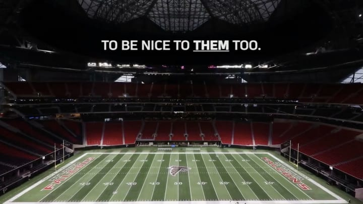 The New Orleans Saints share support for their rivals, including the Atlanta Falcons.