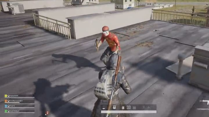 There aren't a lot of scary things in PUBG, however, this may be one of them