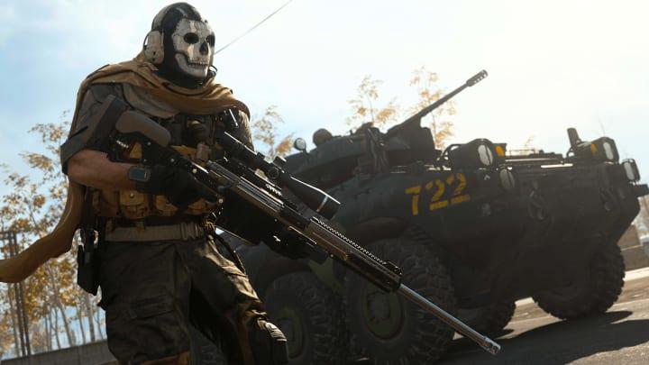 Call of Duty: Modern Warfare Sniper Rifle