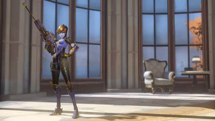 New Fleur de Lis Widowmaker skin from the 2020 Overwatch Anniversary event.