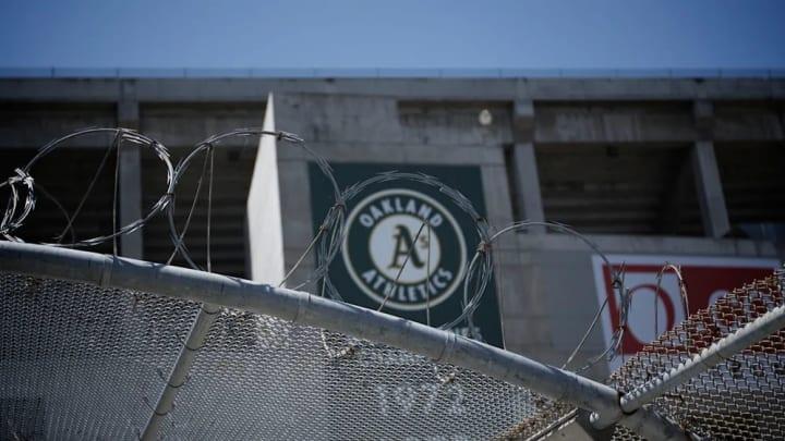 Oakland Coliseum.