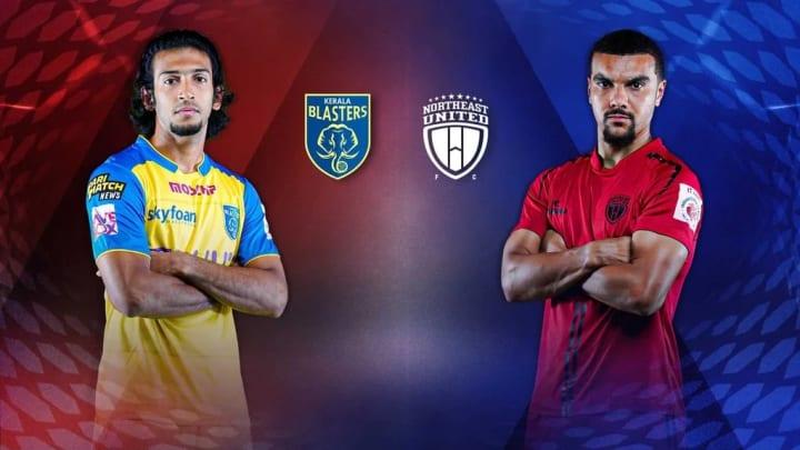 Kerala Blasters take on NEUFC in the ISL