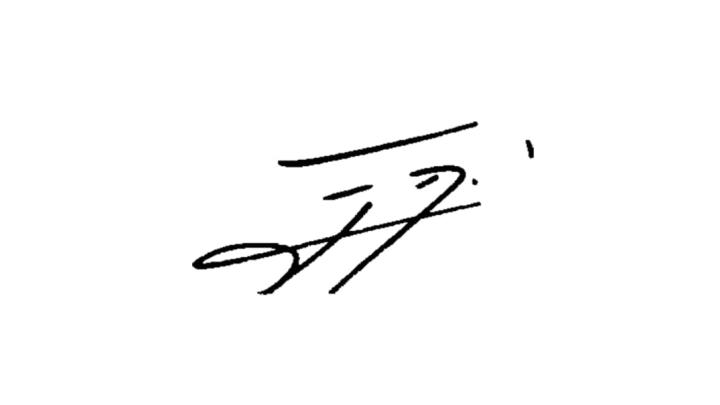 Autografo Cavani