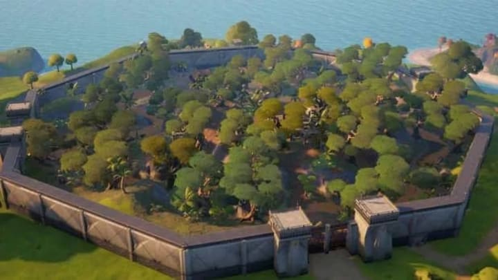 A birds eye view of Stealthy Stronghold