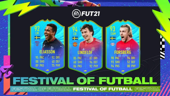 Novo SBC do Festival of FUTBall no FIFA 21