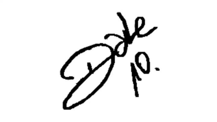Autografo Dalessandro Inter