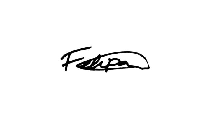 Autografo Felipão Luiz Felipe Scolari