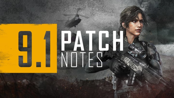 Check out the new Paramo map in the PUBG 9.1 update.