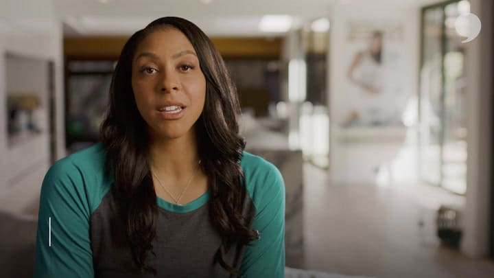 As an athlete and a mother, Candace Parker knows the importance of taking care of herself.
