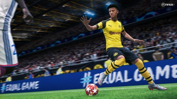 Fifa 20 gameplay may not be available online yet, but a menu screen may have leaked.