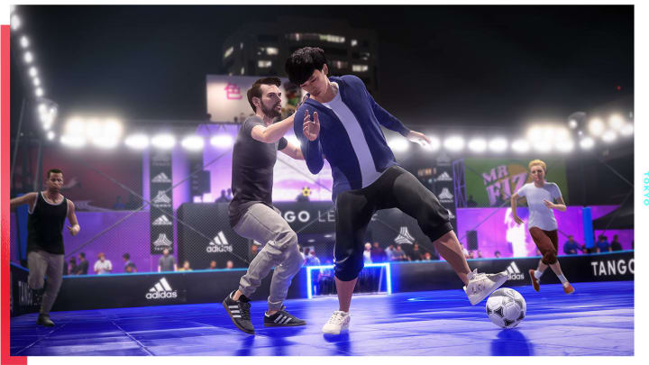 Volta Football FIFA 20 was revealed Saturday during EA's E3 press conference.