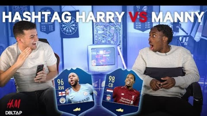 FIFA Forfeit with Hashtag Harry and Manny!