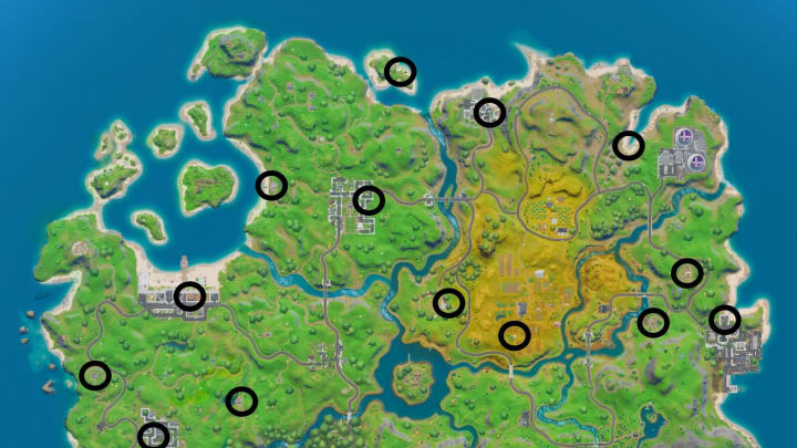 Fortnite Upgrading Weapons Rarity Weapon Upgrade Places Fortnite Where To Find Weapon Upgrade Benches