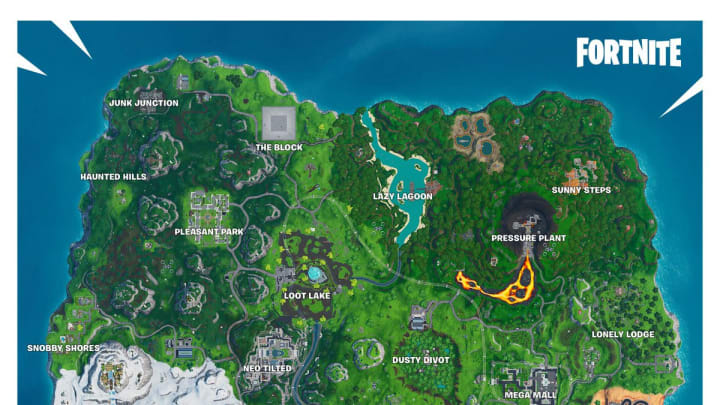 Rock Love Spray Fortnite is the key to accessing Fortbyte #92. Here's where to find it.