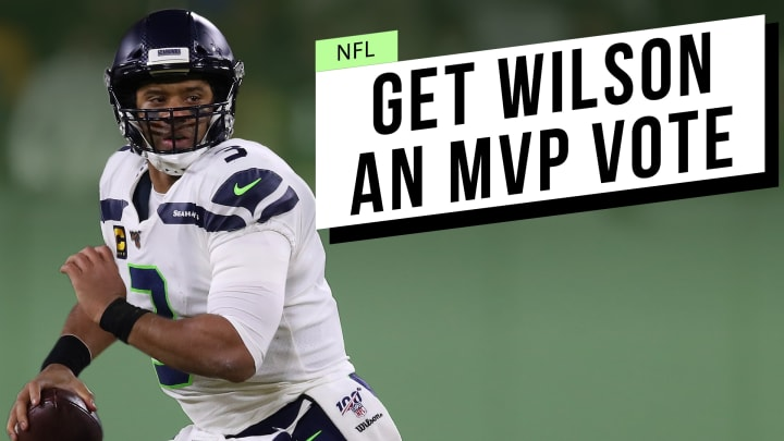 Eight years in the NFL and it's a little ridiculous Wilson hasn't gotten a single MVP vote.