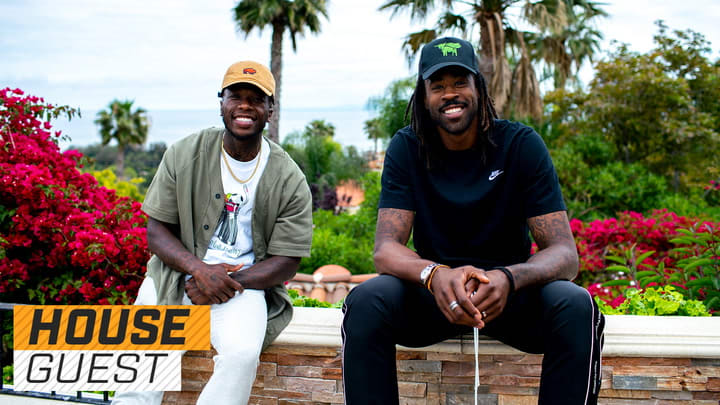 Houseguest with Nate Robinson and DeAndre Jordan