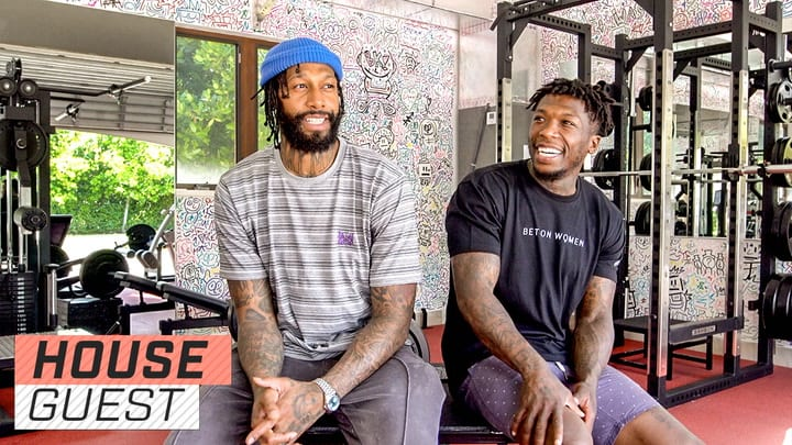 Houseguest with Nate Robinson and James Johnson Clean